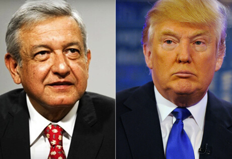 Donald Trump beneficiará a López Obrador